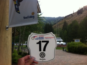 USAC Marathon Nationals number plate