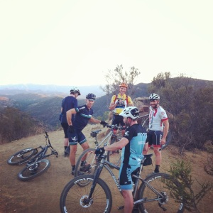 cheeseboro pedalers fork ride and pint  mountain bike ride
