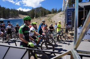 Mammoth Kamikaze Pro XC starting line