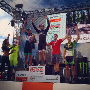 Ryan Steers men's pro XC podium