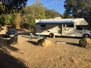 Camping in Jack's RV