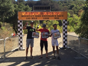 Ryan Steers Dave Zabriskie Santa Barbara Mountain Bike 100 Mile Race Win