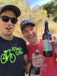 Dave Zabriskie and Ryan Steers Santa Barbara MTB Classic