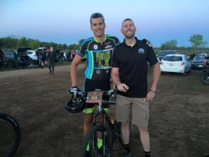 Billy Rice Ryan Steers Invictus Cycling Performance