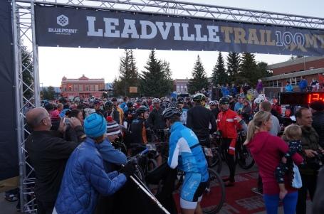 Leadville LT 100 2015 starting line