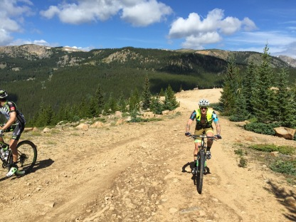 Sugarloaf climb Leadville