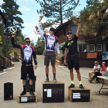 California state XC championships big bear 2015 Pro Men Ryan Steers