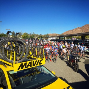 Nosco Ride 2015 Start Mavic Car Support