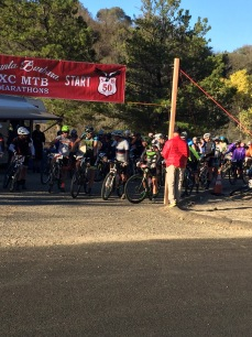 Santa Barbara 100 mountain bike 2015 start SBER