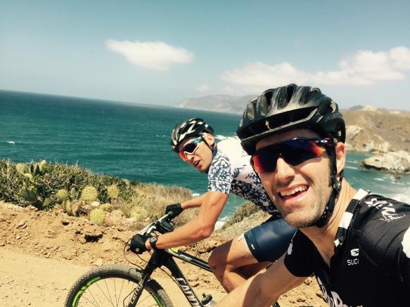 Ryan Steers Eric Bostrom 2016 Catalina Island Ride Biker Gran Fondo Cannonade FSI