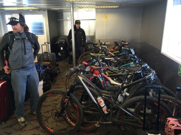 Catalina Island Express ferry mountain bike