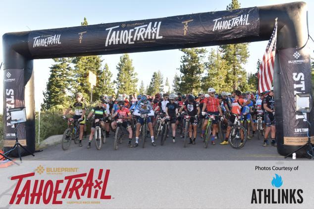Tahoe Trail 100 2016 start Levi Leiphiemer