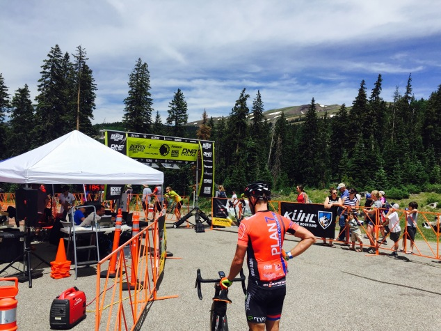 Crusher Tusher 2016 finish line