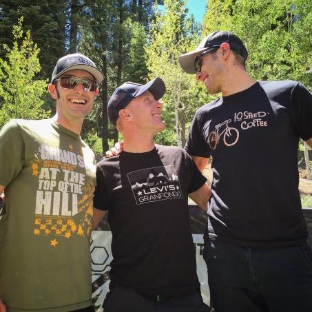 Ryan Steers Eric Bostrom Levi Leipheimer Tahoe Trail 100 2016