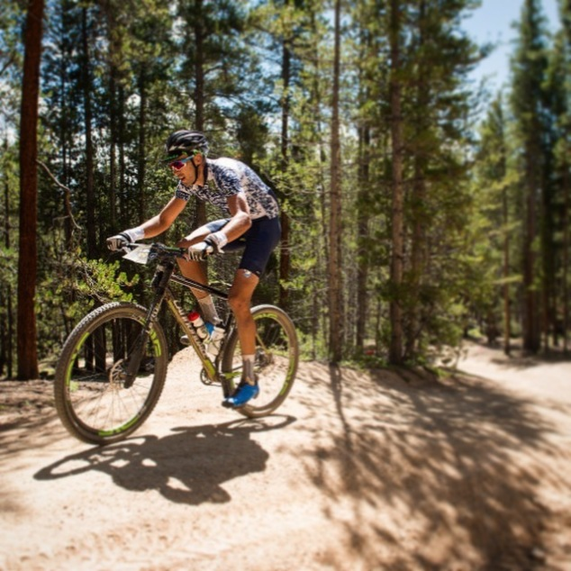 power line climb Leadville 100 Ryan Steers Cannondale FSI