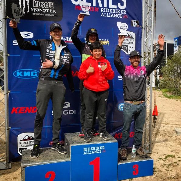 endurance podium vail lake 2017 kenda cup ryan steers giant cofactory tinker juarez