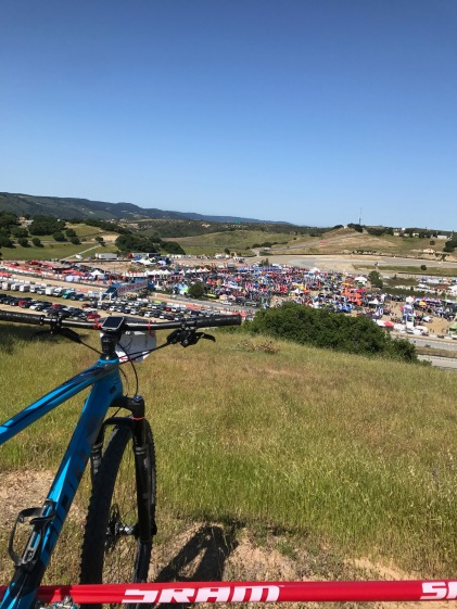 2017 Sea Otter Classic Pro XC Course view infield