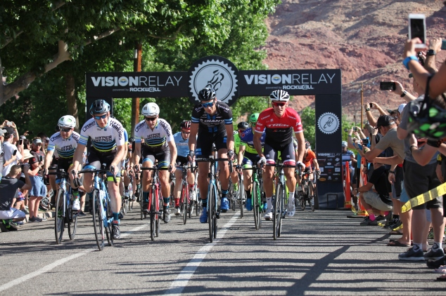 2017 Start Rockwell Vision Relay Moab Utah Ryan Steers Giant Danny Lupold