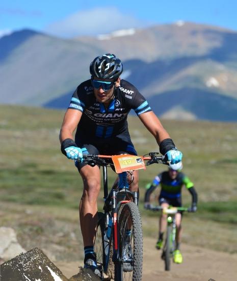 Columbine climb Leadville Trail 100 MTB Ryan Steers