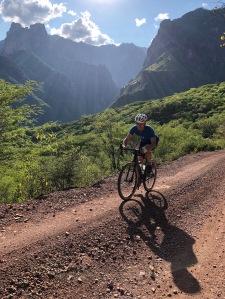 cycling Urique Mexico
