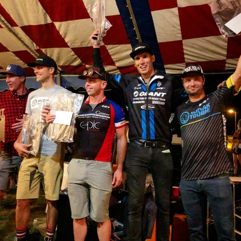 Berryman Trail 2017 BT Epic Podium